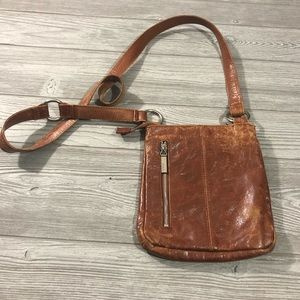 Hobo • Distressed Leather Crossbody